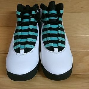 1495d479e02021 Jordan Shoes - Nike Air Jordan 10 Retro Verde 705180-118